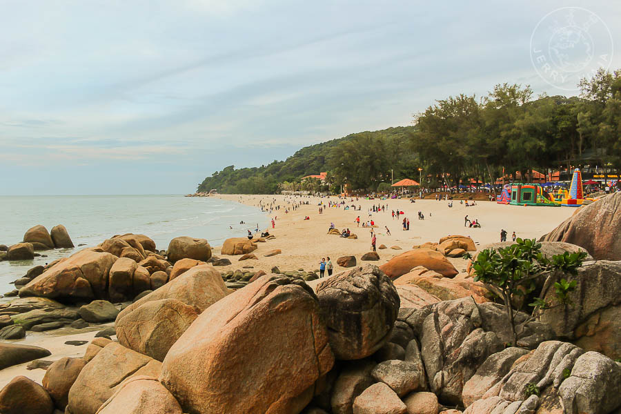 Playa Teluk Cempeda, Kuantan, Malasia