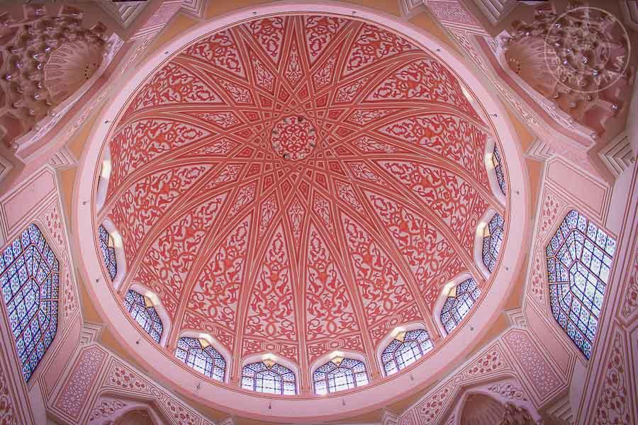 Mezquita de Putra, Putra Mosque, Putrajaya, Malasia