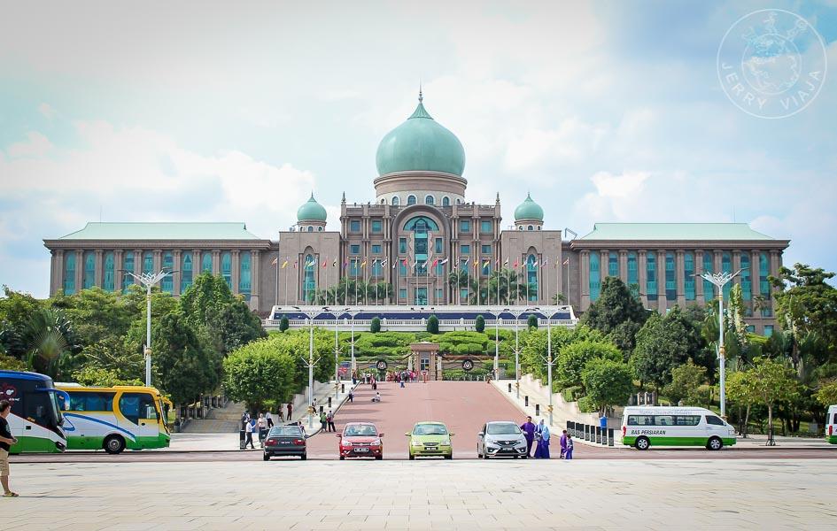 Perdana Putra, la Oficina del Primer Ministro. Putrajaya, Malasia