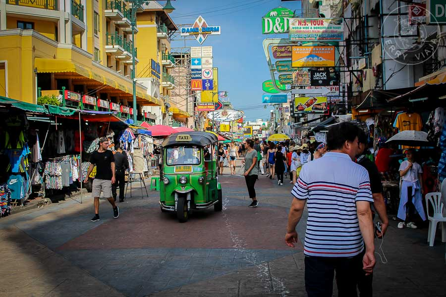 Khao San Road, Bangkok, Tailandia