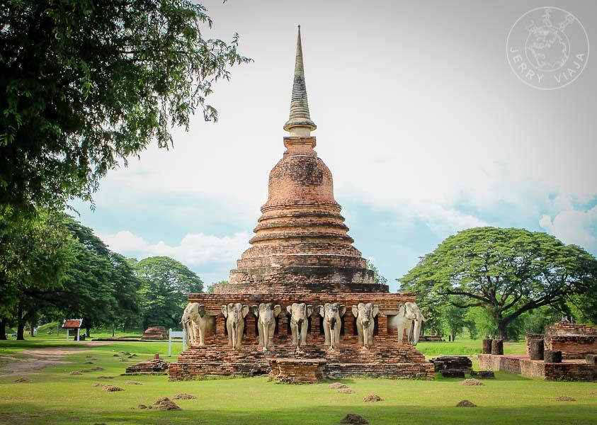 Wat Sorasak, Sukhothai, Tailandia