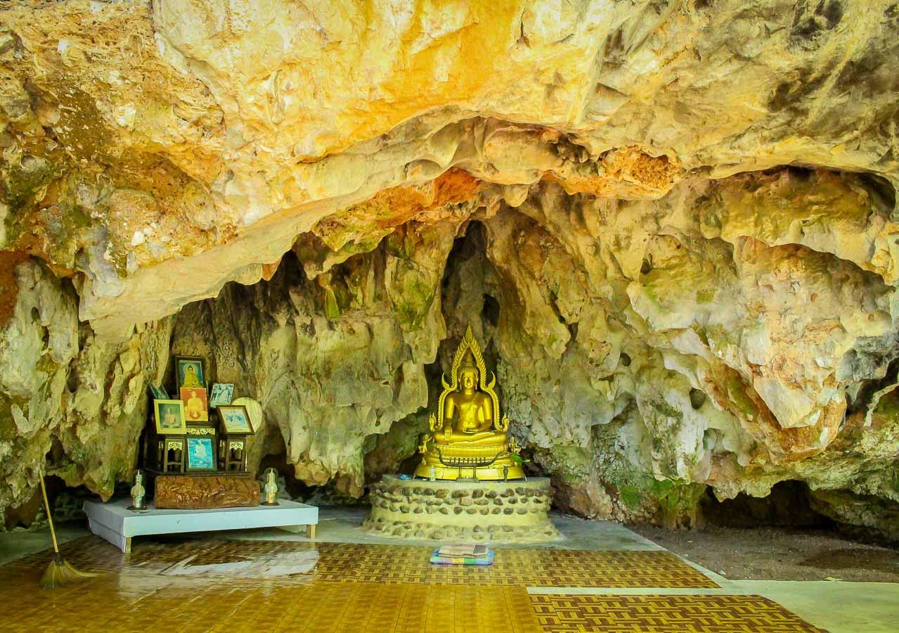 Viviendo 3 días en el Monasterio Wat Tam Wa Wat Tam Wa Forest Monastery, Tailandia