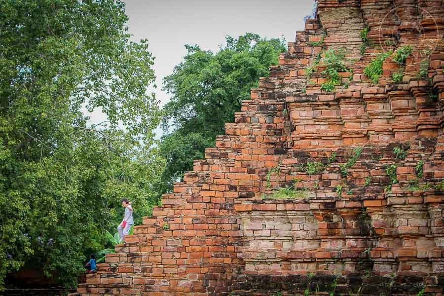 Wat Worapho, Ayutthaya, Tailandia