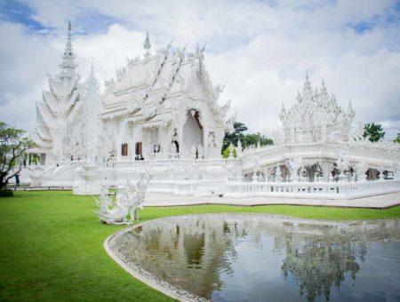 Wat Rong Khun - El Templo Blanco, Tailandia